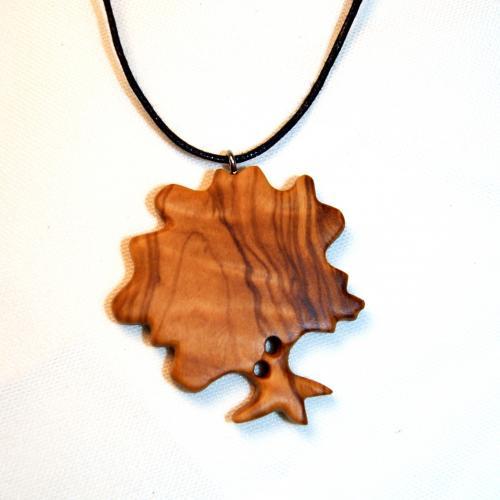 13- Collier arbre en Olivier