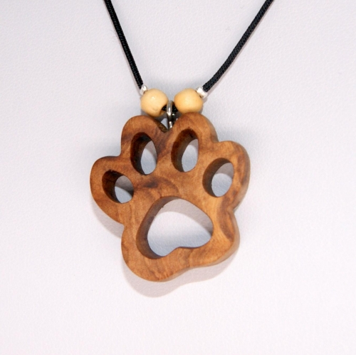 31- Collier patte de Chien en Olivier